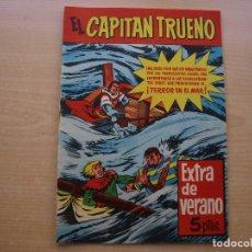 Tebeos: EL CAPITAN TRUENO -EXTRA DE VERANO - ORIGINAL - BRUGUERA - AÑO 1960 - MUY BUEN ESTADO. Lote 222762790
