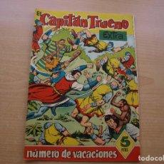 Tebeos: EL CAPITAN TRUENO EXTRA - NUMERO DE VACACIONES - ORIGINAL - BRUGUERA - AÑO 1960 - MUY BUEN ESTADO. Lote 222763420