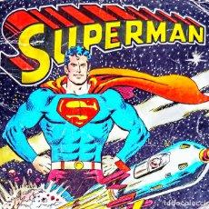 Giornalini: SUPERMAN (1975) LAS 6 MEJORES AVENTURAS.DIBUJANTES JOE SHUSTER,WAYNE BORING,ET 35 CM X 25 CM. Lote 226853845
