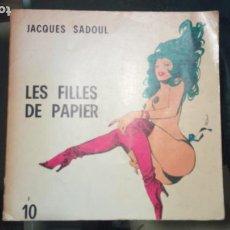 Tebeos: LES FILLES DE PAPIER, LAS HEROINAS DEL COMIC, VAMPIRELLA, ISABELLA, BARBARELLA, 1971, 128 PAG.. Lote 229610200