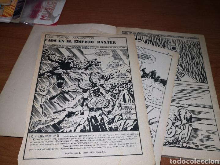 Tebeos: Marvel, Los 4 fantásticos y Spiderman - Foto 8 - 232385925