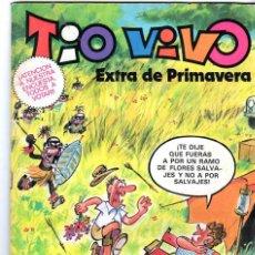 Tebeos: TIO VIVO ***EXTRA DE PRIMAVERA *** EDITORIAL BRUGUERA AÑO 1981. Lote 232520125