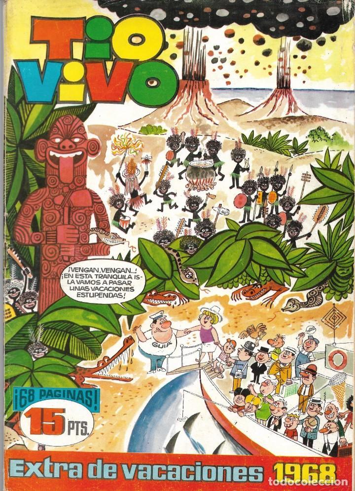 TÍO VIVO EXTRA DE VACACIONES 1968 (Tebeos y Cómics - Tebeos Extras)