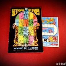 Tebeos: STRONG EXTRA NÚMERO DE NAVIDAD -ARGOS 1969-COMPLETO. Lote 234334725