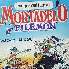 BDs: MORTADELO Y FILEMON VALOR Y... ¡AL TORO!. Lote 162741058