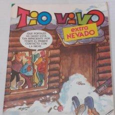 Tebeos: TIO VIVO - EXTRA Nº 47 - EXTRA NEVADO - BRUGUERA 1984 - BIEN. Lote 235960505