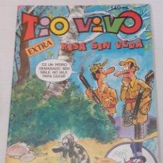 Livros de Banda Desenhada: TIO VIVO - EXTRA Nº 82 - RISA SIN VEDA - BRUGUERA 1985 - BIEN. Lote 235961020