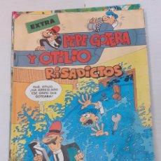 Tebeos: PEPE GOTERA Y OTILIO EXTRA Nº 90 - RISADICTOS - BRUGUERA 1985 - BIEN. Lote 235963220