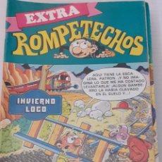 Tebeos: ROMPETECHOS EXTRA Nº 43 - INVIERNO LOCO - BRUGUERA 1983. Lote 235966480