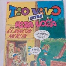 Tebeos: TIO VIVO - EXTRA Nº 89 - RISA LOCA - BRUGUERA 1985 - BIEN. Lote 235961125
