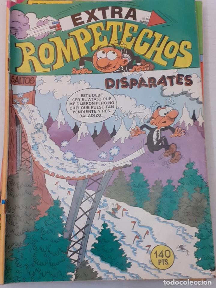 ROMPETECHOS EXTRA Nº 77 - DISPARATES - BRUGUERA 1985 (Tebeos y Cómics - Tebeos Extras)