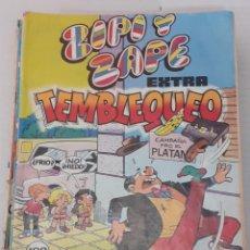 Tebeos: ZIPI Y ZAPE EXTRA Nº 14 - TEMBLEQUEO- BRUGUERA 1982. Lote 235968190