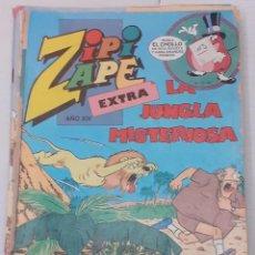 Tebeos: ZIPI Y ZAPE EXTRA Nº 79 - LA JUNGLA MISTERIOSA - BRUGUERA 1985. Lote 235969370