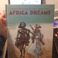 Giornalini: COMIC ÁFRICA DREAMS INTEGRAL TAPA DURA PRECINTADO PERFECTO YERMO. Lote 242166850
