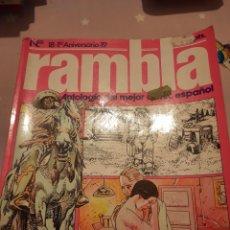 Tebeos: RAMBLA. N° 18 Y 19. Lote 243904590