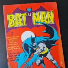 Tebeos: MUY BUEN ESTADO BATMAN EL CASO QUE BATMAN NO PUEDO RESOLVER EXTRA BAT-MAN EDITORIAL VALENCIANA. Lote 250341005
