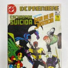 Tebeos: LIGA DE LA JUSTICIA VS ESCUADRÓN SUICIDA DC PREMIERE Nº 3 (1988). Lote 260397790