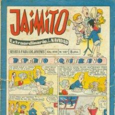 Livros de Banda Desenhada: JAIMITO Nº 687 EXTRAORDINARIO DE NAVIDAD. Lote 269599378