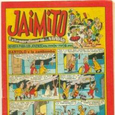 Tebeos: JAIMITO Nº 737 EXTRAORDINARIO DE NAVIDAD. Lote 269599633