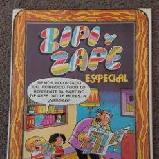 Giornalini: ZIPI Y ZAPE, NÚMERO ESPECIAL, BRUGUERA 1981 PERFECTO, DE KIOSKO. Lote 275652808
