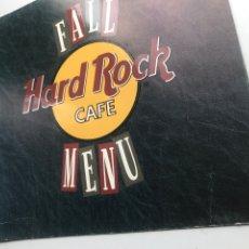Tebeos: ENVIÓ 8€. MENÚ HARD ROCK CAFE MIDEN 24X24CM. Lote 280941568