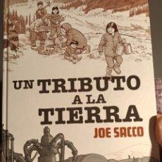 Tebeos: TRIBUTO A LA TIERRA. JOE SACCO. Lote 288071423