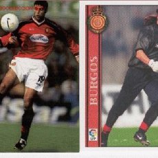 Trading Cards: 9 TRADING CARDS R.C.D MALLORCA (LFP AÑO 2001). Lote 21543253