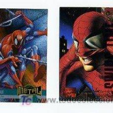 Trading Cards: TRADING CARD MARVEL SPIDER-MAN - MARVEL SIGNATURE Y MARVEL METAL. Lote 27430277