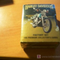 Trading Cards: HARLEY - DAVIDSON . COLECCION COMPLETA SERIE 2 ( 1OO CARDS ) SIN ABRIR. Lote 13372370