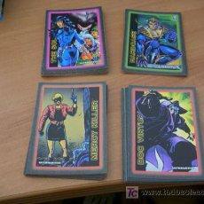 Trading Cards: COLECCION COMPLETA 100 CARDS ULTRAVERSE. ( HEROES Y VILLANOS ). Lote 10807411
