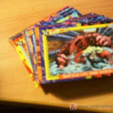 Trading Cards: LOTE COLECCION CASI COMPLETA BLOOD LINES NEW HEROES VILLAINS ( FALTAN 5-14-23-41-70-72 Y 76 ) (CRI1). Lote 10791150