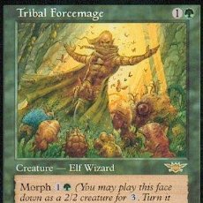 Trading Cards: MTG 2X MAGOFUERZA TRIBAL - TRIBAL FORCEMAGE . LEGIONES. Lote 26779729