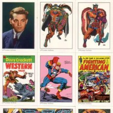 Trading Cards: COMPLETA - JACK KIRBY TRIBUTE TRADING CARD BASE SET (21ST CENTURY ARCHIVES,1994) - 50 CARDS. Lote 38458205