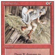 Trading Cards: MTG MAGIC - 3X TERREMOTO - REVISED CUARTA SEPTIMA. Lote 26331543