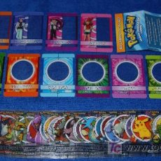 Trading Cards: POKEMON MAGIC MESSAGE CARDS - MERLIN STICKERS ¡CASI COMPLETA!. Lote 171398382