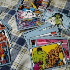 Trading Cards: FANTASTIC FOUR ARCHIVES LOS 4 FANTASTICOS 72 TRADING CARDS CROMOS ¡COMPLETA! 1997. Lote 21058735
