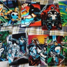 Trading Cards: THE PUNISHER EL CASTIGADOR WAR JOURNAL ENTRY 90 TRADING CARDS CROMOS ¡COMPLETA! 1992. Lote 21142343