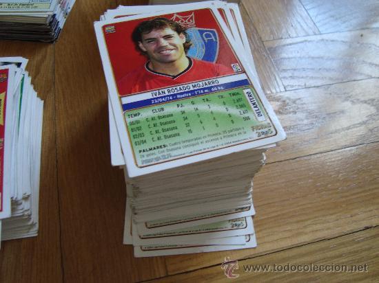 Trading Cards: MAS DE 960 LAMICARD FICHAS DE FUTBOL LIGA ESPAÑOLA DE AÑOS 2004.2005,2006,ETC. - Foto 3 - 27244285
