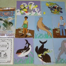 Trading Cards: IÑI LOTE FREE WILLY 2. POP-OUT CARDS TARJETAS. SKYBOX. LOTE BETA.. Lote 22064352