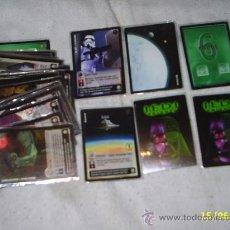 Trading Cards: 41 CARTAS DE JEDI KNIGHTS - 2001 LUCASFILM - DECIPHER - DIFERENTES CON PROTECTOR DE PLASTICO TODAS. Lote 28257963