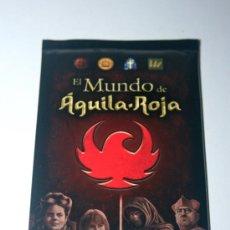 Trading Cards: SOBRE DE CARTAS CERRRADO AGUILA ROJA. Lote 29494907