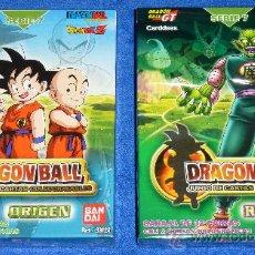 Trading Cards: DRAGON BALL - BANDAI ¡PRECINTADAS!. Lote 214017470