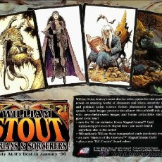 Trading Cards: LOTE COLECCION COMPLETA 90 CARDS WILLIAM STOUT. Lote 207226576
