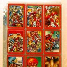Trading Cards: LOTE COLECCIÒN COMPLETA YOUNGBLOOD TRADING CARDS CROMOS POR ROB LIEFELD. Lote 30173050