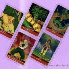 Trading Cards: 10 LAMINCARDS DIFERENTES TRANSPARENTES DE LA PRIMERA EDICION DE DRAGON BALL Z DE MUNDICROMO MIRATELA. Lote 40998439