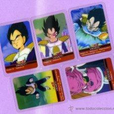 Trading Cards: 10 LAMINCARDS DIFERENTES TRANSPARENTES DE LA PRIMERA EDICION DE DRAGON BALL Z DE MUNDICROMO MIRATELA. Lote 40998440