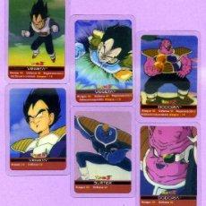 Trading Cards: 10 LAMINCARDS DIFERENTES TRANSPARENTES DE LA PRIMERA EDICION DE DRAGON BALL Z DE MUNDICROMO MIRATELA. Lote 33879132