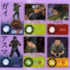 Trading Cards: 10 LAMINCARDS DE NARUTO DEL 2002 DE PANNINI MIRATELAS ESTAN A ESTRENA. Lote 135228777