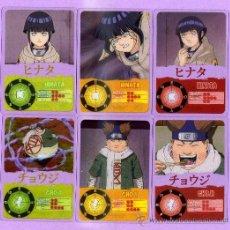 Trading Cards: 10 LAMINCARDS DE NARUTO DEL 2002 DE PANNINI MIRATELAS ESTAN A ESTRENA. Lote 135228826