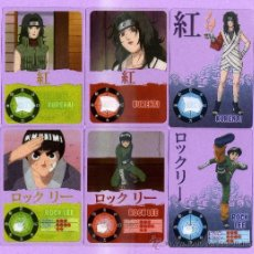 Trading Cards: 10 LAMINCARDS DE NARUTO DEL 2002 DE PANNINI MIRATELAS ESTAN A ESTRENA. Lote 135228890